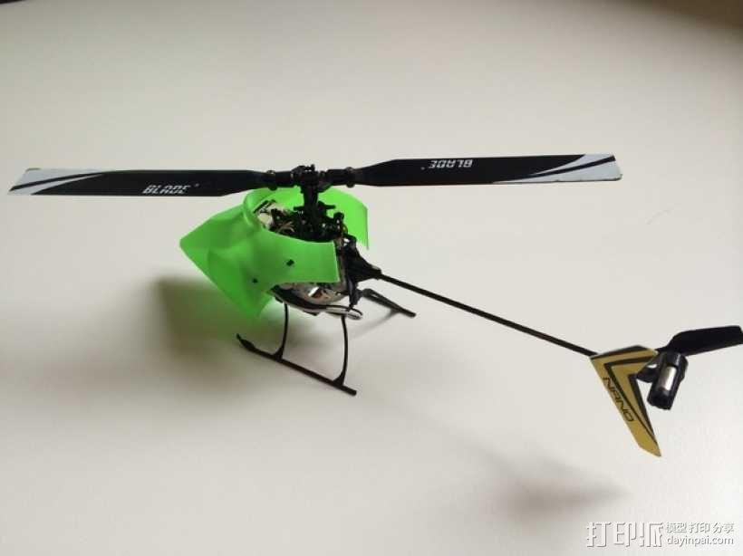 NanoCPX遥控飞机 飞机座舱罩 3D模型  图6
