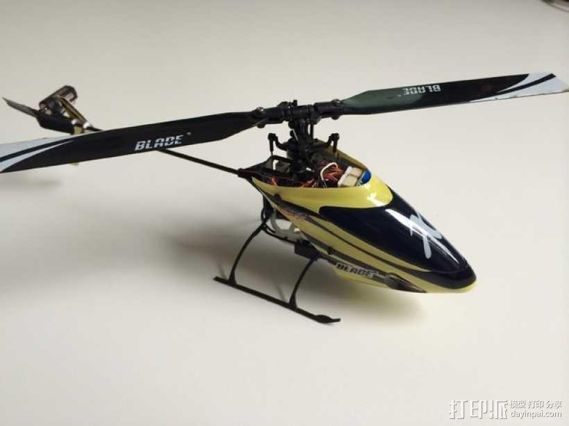 NanoCPX遥控飞机 飞机座舱罩 3D模型  图8