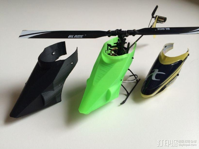 NanoCPX遥控飞机 飞机座舱罩 3D模型  图7
