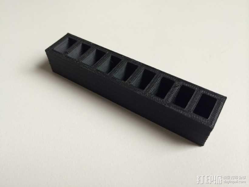 LiPo电池夹 3D模型  图4
