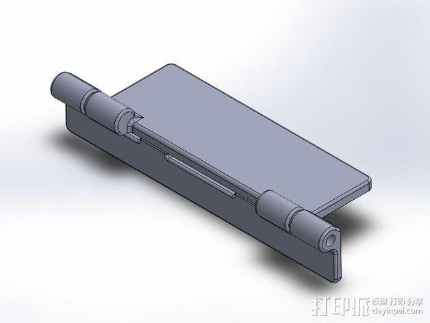 FPV液晶显示器放大器 3D模型  图6