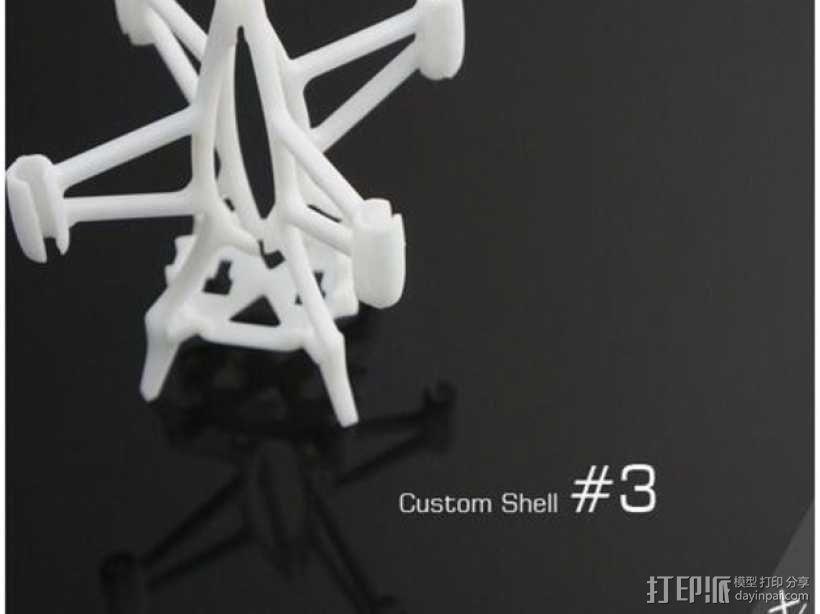 FlexBot 火箭外壳 3D模型  图1