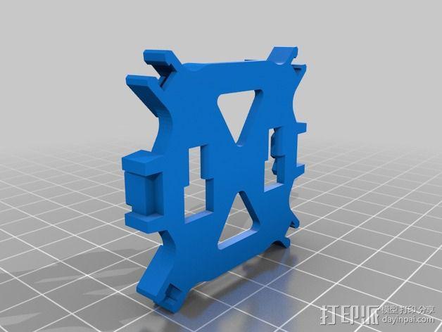 FlexBot 火箭外壳 3D模型  图2