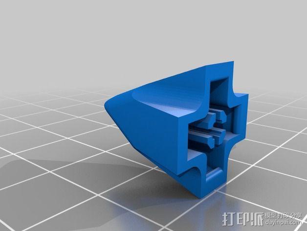 FlexBot 火箭外壳 3D模型  图3