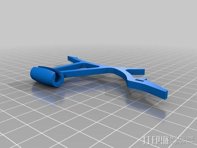 FlexBot 火箭外壳 3D模型  图4
