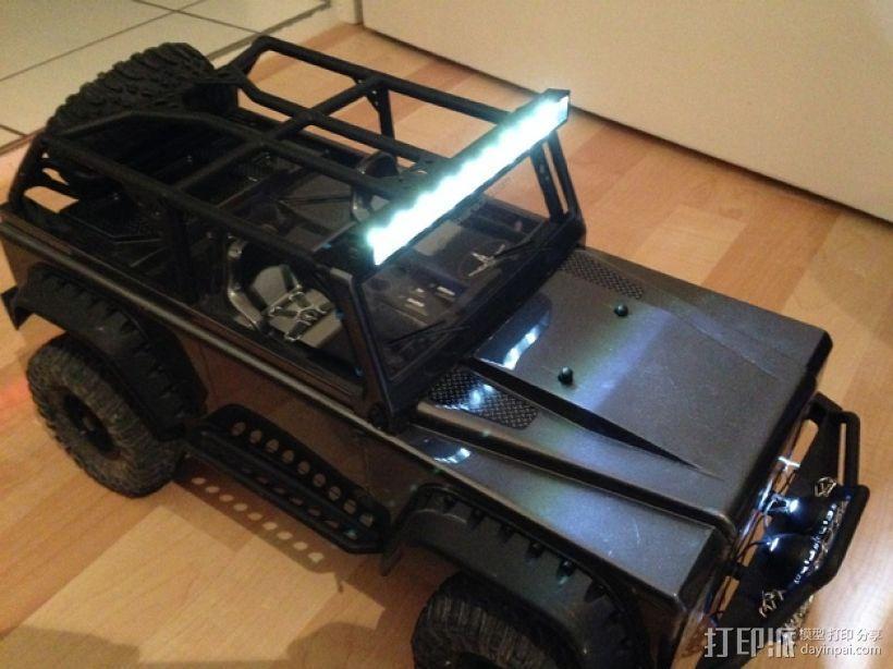 攀爬遥控车LED光条 3D模型  图1