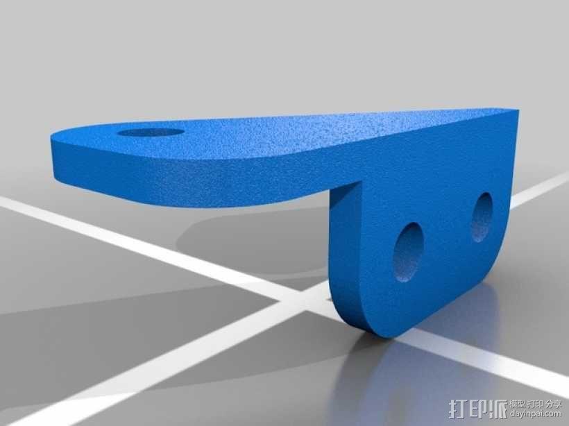 攀爬遥控车LED光条 3D模型  图10