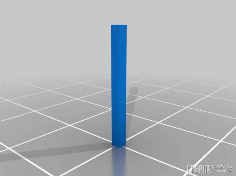攀爬遥控车LED光条 3D模型  图11