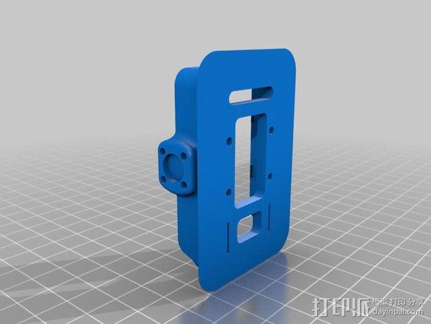Mobius相机常平架 3D模型  图2