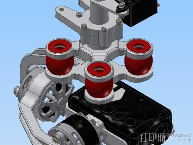 Mobius相机常平架 3D模型  图6