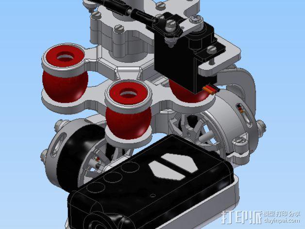 Mobius相机常平架 3D模型  图7