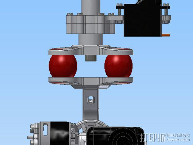 Mobius相机常平架 3D模型  图9