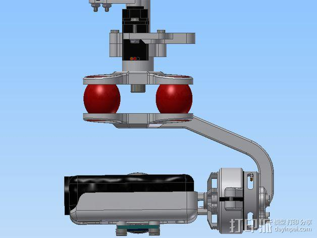 Mobius相机常平架 3D模型  图10