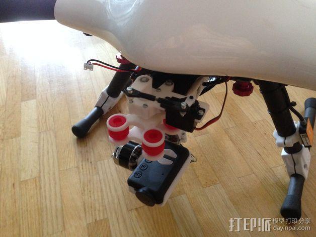 Mobius相机常平架 3D模型  图11