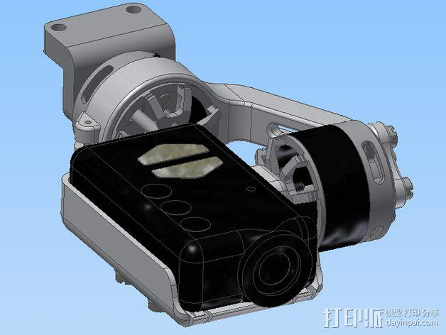 Mobius相机常平架 3D模型  图24