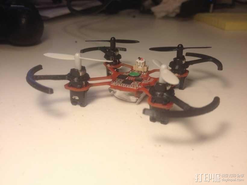四轴飞行器螺旋桨 3D模型  图1