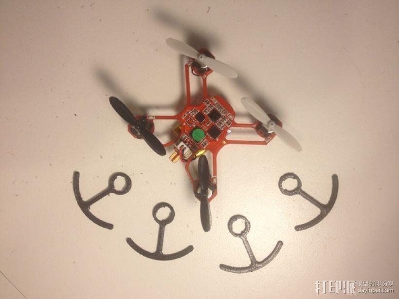 四轴飞行器螺旋桨 3D模型  图2