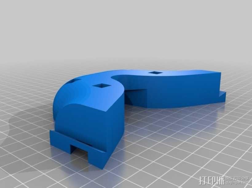 潜水服 衣架 3D模型  图5