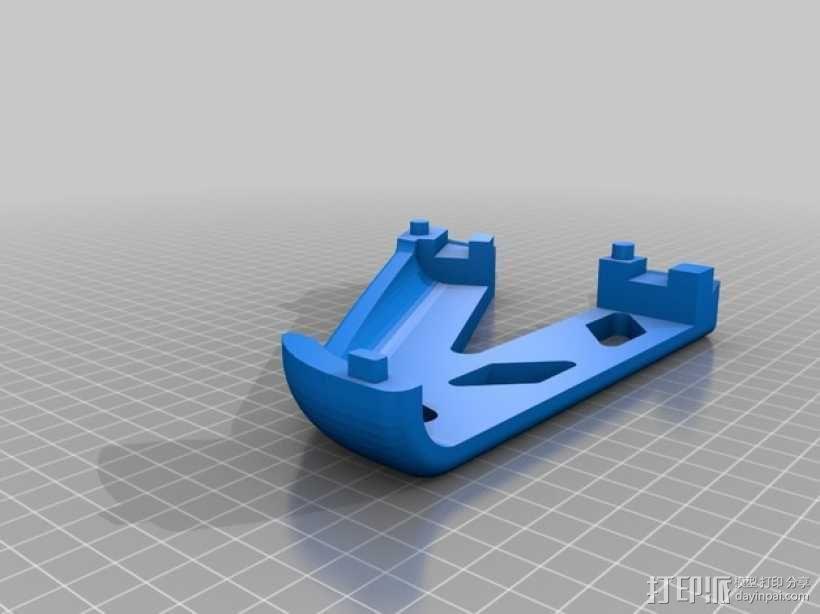 潜水服 衣架 3D模型  图7