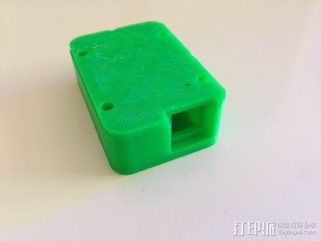 3DR遥测模块 外壳 3D模型  图3
