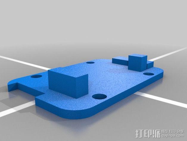 3DR遥测模块 外壳 3D模型  图6