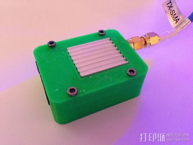 TS351 FPV视频发射机 外壳 3D模型  图3