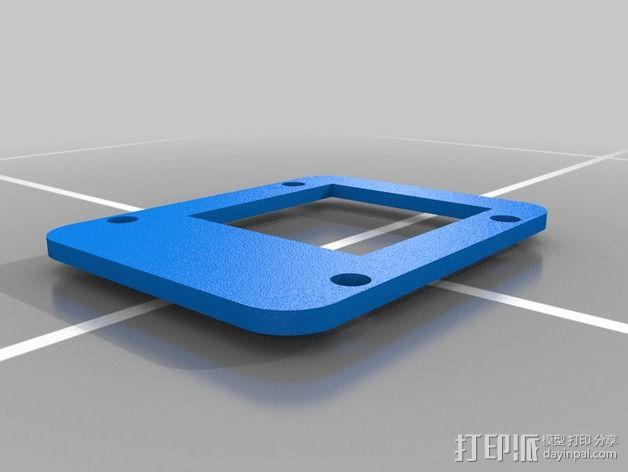 TS351 FPV视频发射机 外壳 3D模型  图8