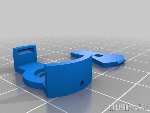 LED灯外壳 3D模型  图2