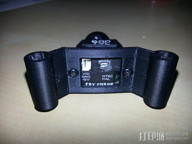 600TVL相机支架 3D模型  图5