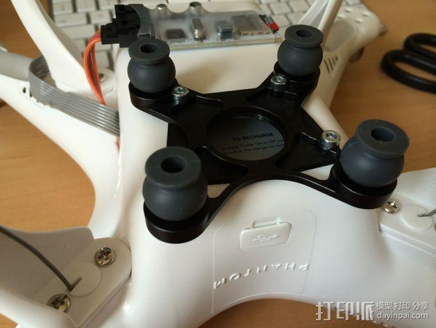 DJI Phantom 2四轴飞行器 常平架垫片 3D模型  图8