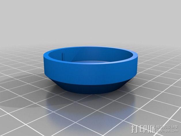 X9D扬声器附件 3D模型  图7