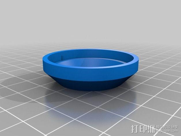 X9D扬声器附件 3D模型  图6