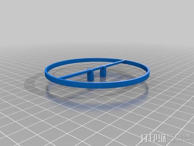 Estes Proto X四轴飞行器 保护环  3D模型  图2
