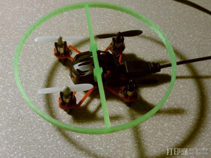 Estes Proto X四轴飞行器 保护环  3D模型  图1