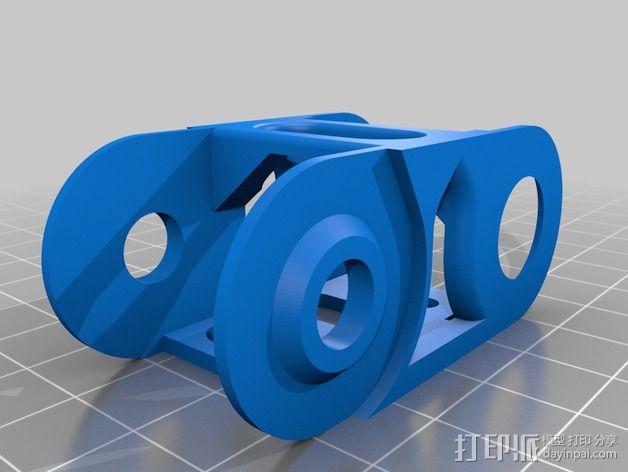 电缆轨道 3D模型  图2