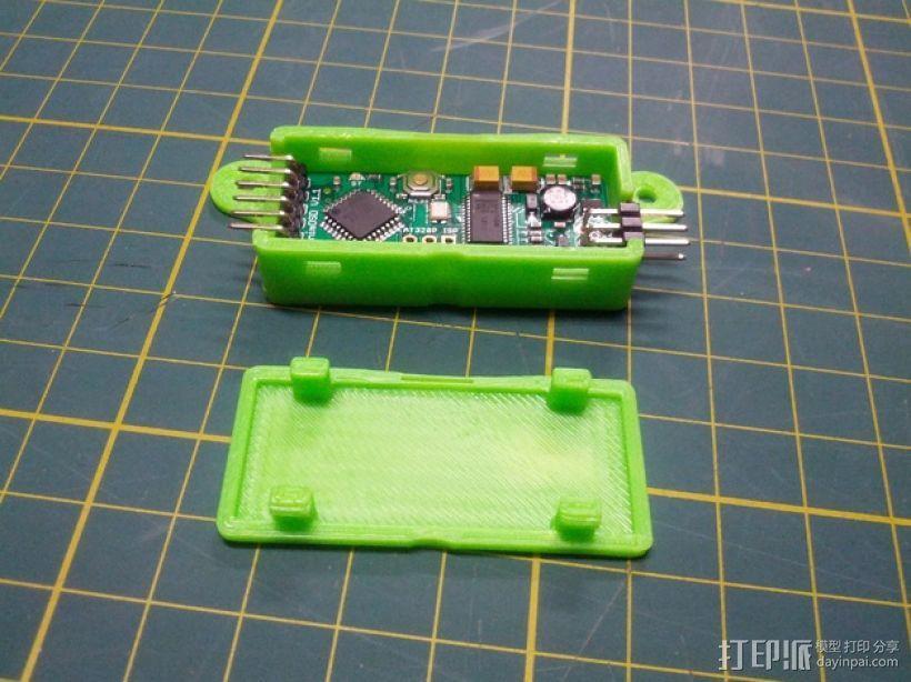 Minim OSD折边小盒 3D模型  图1