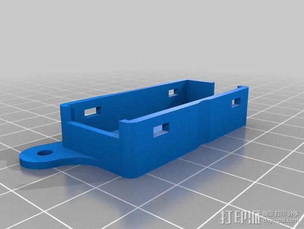Minim OSD折边小盒 3D模型  图2