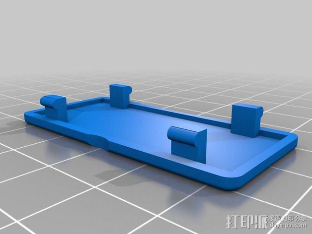 Minim OSD折边小盒 3D模型  图3