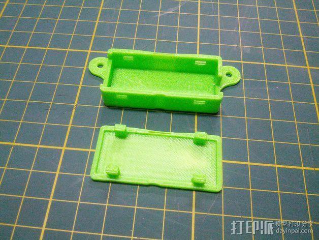 Minim OSD折边小盒 3D模型  图4