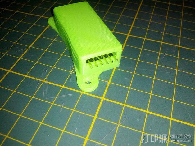 Minim OSD折边小盒 3D模型  图6