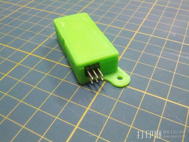Minim OSD折边小盒 3D模型  图7