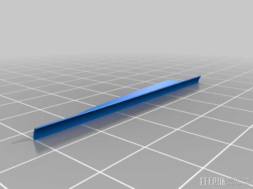 弓箭 尾羽 3D模型  图7