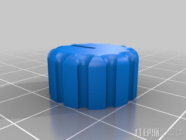 FrSky发送器旋钮 3D模型  图2