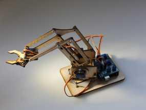 机械手臂 3D模型