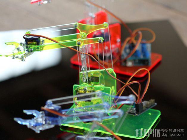 机械手臂 3D模型  图2