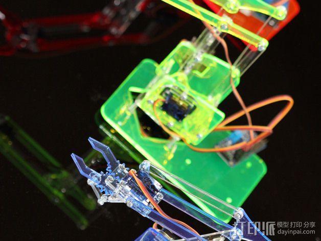 机械手臂 3D模型  图7