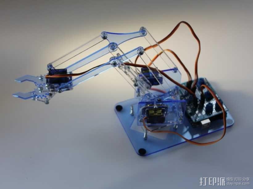 机械手臂 3D模型  图14