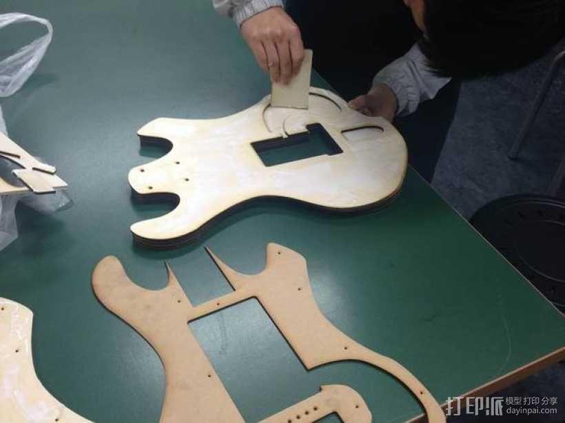 吉他 3D模型  图7