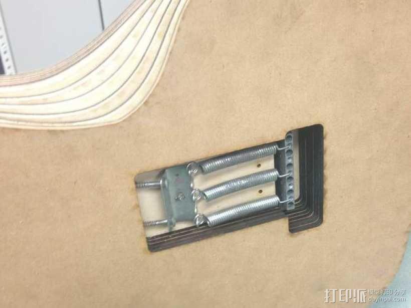 吉他 3D模型  图11