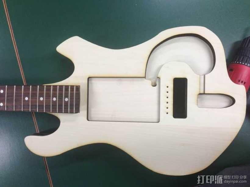 吉他 3D模型  图8